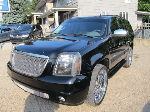 "2007 GMC Yukon SLT 4x4 24"" Wheels Elite Auto Outlet Bridgeport Ohio"