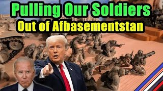 We're Pulling The Troops Out Of Afbasementstan!! - 25,000 Toy Soldiers are Coming Home!!