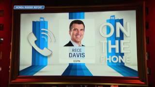ESPN Broadcaster Rece Davis Breaks Down Lakers, 76ers & Celtics Game Plan - 6/22/17