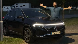 I Drive The Electric Mercedes EQA For The First Time!