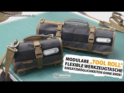 ▷ Tool Roll Modular - Modulare Werkzeugtasche