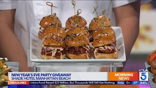 Shade Chef Previews New Years Eve Masquerade Ball With Holiday Food Tips