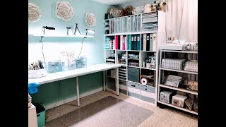 New Craft Room Tour! ***Jessica Grace***