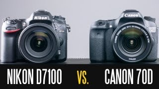 Canon EOS 70D vs Nikon D7100 - Full In Depth Comparison