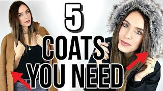 5 Winter Coats Every Woman NEEDS In Their Closet!