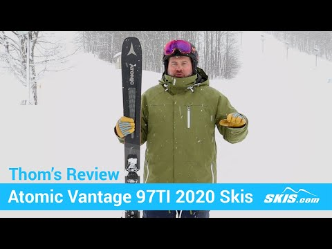 Video: Atomic Vantage 97 TI Skis 2020 20 50