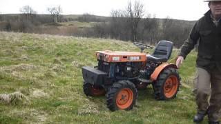 Kubota B6000 4WD Diesel Compact Tractor