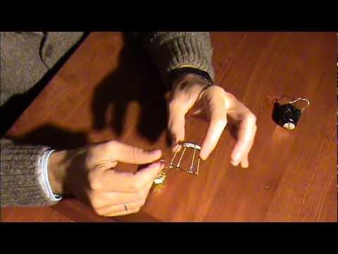 Hacer una Silla con alambre de Cava