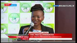 Presidential aspirants meet with IEBC: World View