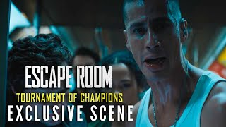 ESCAPE ROOM: TOURNAMENT OF CHAMPIONS – Exclusive Scene | Now Playing In Theaters
