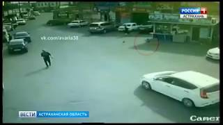 3-летний мальчик попал под колеса машины в Астрахани