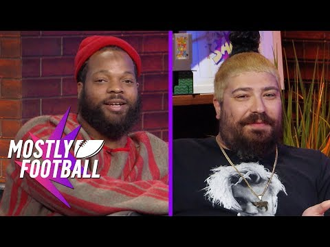 Eagles DE Michael Bennett On Philly's Future & 'The Fat Jew' Talks How Many F*cks | Mostly Football
