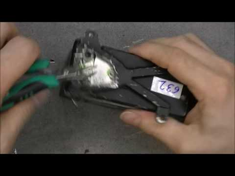 Rate switching gyroscope teardown, with a can opener !