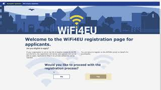 WiFi4EU tutorial on how to apply