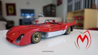 Ferrari 312 PB BY GMP 1/18 Scale