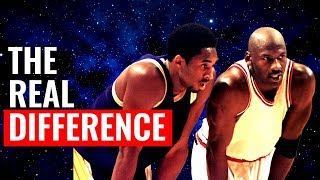 THE  REAL DIFFERENCE BETWEEN KOBE AND MICHAEL JORDAN |  TheBlackRanger X TELLS THE TRUTH!