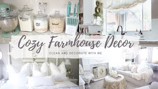 ✨NEW✨CLEAN & DECORATE WITH ME | FRENCH COUNTRY FARMHOUSE STYLE |MONICA ROSE