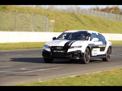 Ausfahrt.TV Track Check: Eine Runde Oschersleben mit dem Audi RS7 und Frank Biela