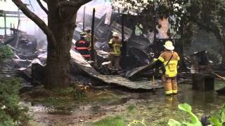 Mobile home in Fairview Township destroyed by fire
