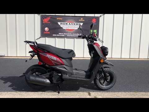 2019 Yamaha Zuma 50F in Greenville, North Carolina - Video 1
