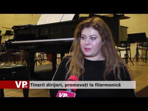 Tinerii dirijori, promovați la filarmonică