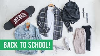 10 STYLISH Back To School Pieces For Every Student  | Mens Outfit Inspiration