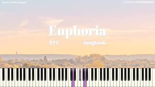 BTS Jungkook   Euphoria (Piano Ver.) (방탄소년단 정국   유포리아) [PIANO COVER]