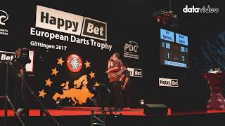 KMU-100 at work during the European Darts Trophy
