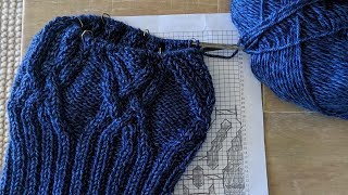 Learn to Read A Knitting Cable Chart | Cable Hat Step-by-Step Tutorial | Knitting House Square