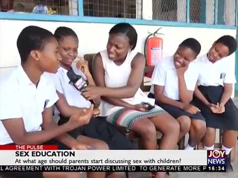 Sex Education - The Pulse on JoyNews (6-4-18)
