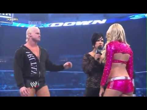 [WWE]Smackdown - Vickie Guerrero & Dolph Ziggler & LayCool vs KellyKelly & Edge - Segment.mp4