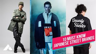 10 Japanese Streetwear Brand EVERYONE Should Know About