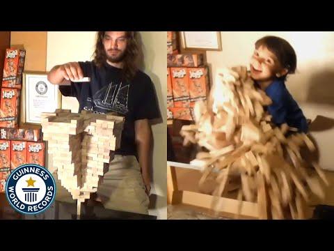 男子建造世界纪录晋城塔