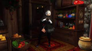 nier automata dance video - मुफ्त ऑनलाइन