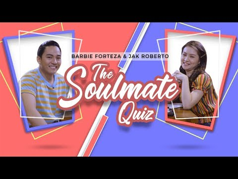 Barbie Forteza and Jak Roberto Play the Soulmate Quiz