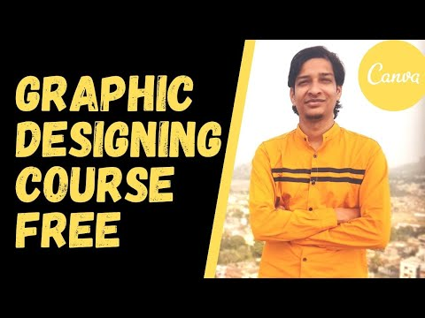 Introduction To Canva Part1 - Learn Graphic Designing  FREE Online