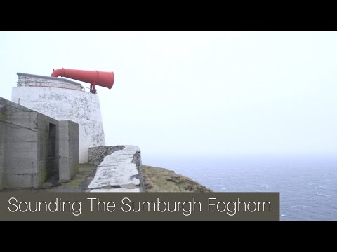 How to Make a Foghorn Cry