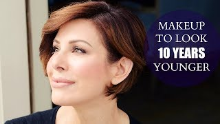 Simple Makeup Tips To Look 10 Years Younger - Video Youtube