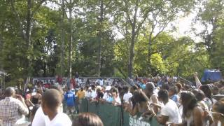 "Christopher Williams Performs ""Every Little Thing You Do"" @ Central Park Summerstage 08/12/2012"