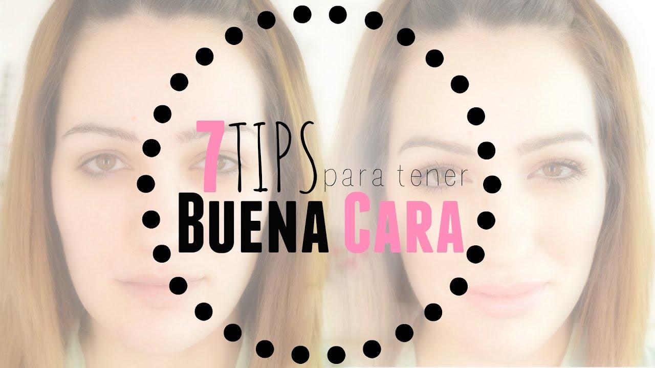 7 Tips para tener buena cara