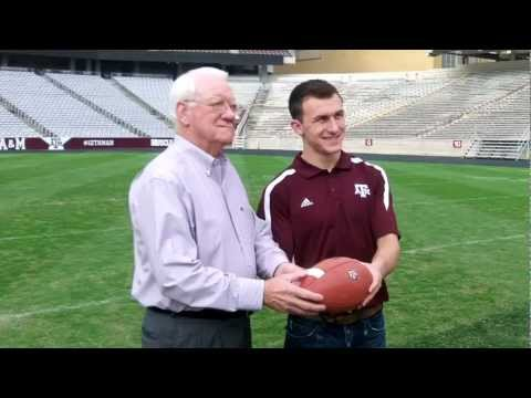 Aggies Crow Manziel Meet at Kyle Field