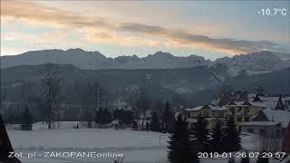 Zakopane , Dzień w Tatrach 2019-01-26