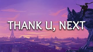 Ariana Grande ‒ thank u, next (lyrics) - YouTube