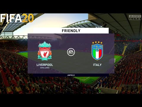 FIFA 20 | Liverpool vs Italy - Friendly - Full Match & Gameplay