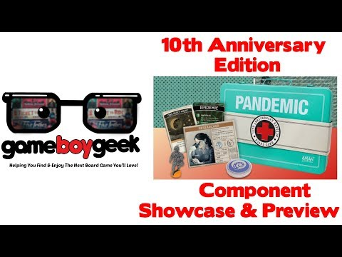 10th Anniversary Pandemic Components Showcase & Preview with the Game Boy Geek
