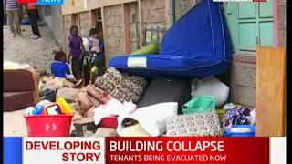 4-Storey building collapses in Kariobangi