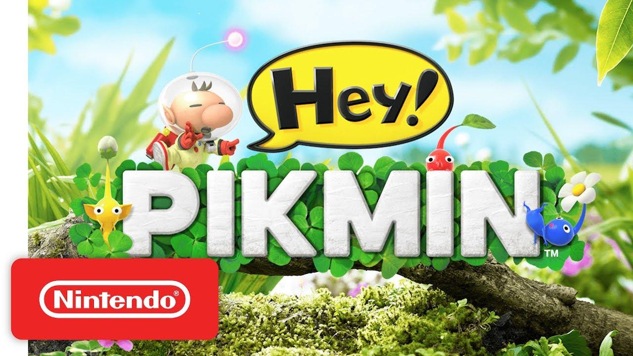 Hey! PIKMIN Lift-Off Trailer - Nintendo 3DS
