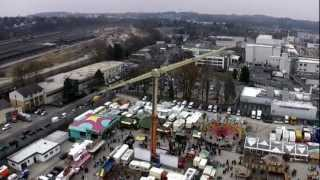 preview picture of video 'Europarad (Kipp) 55 mtr hoog; off-onride Fruhjahrsbend Aachen 3 april 2013'