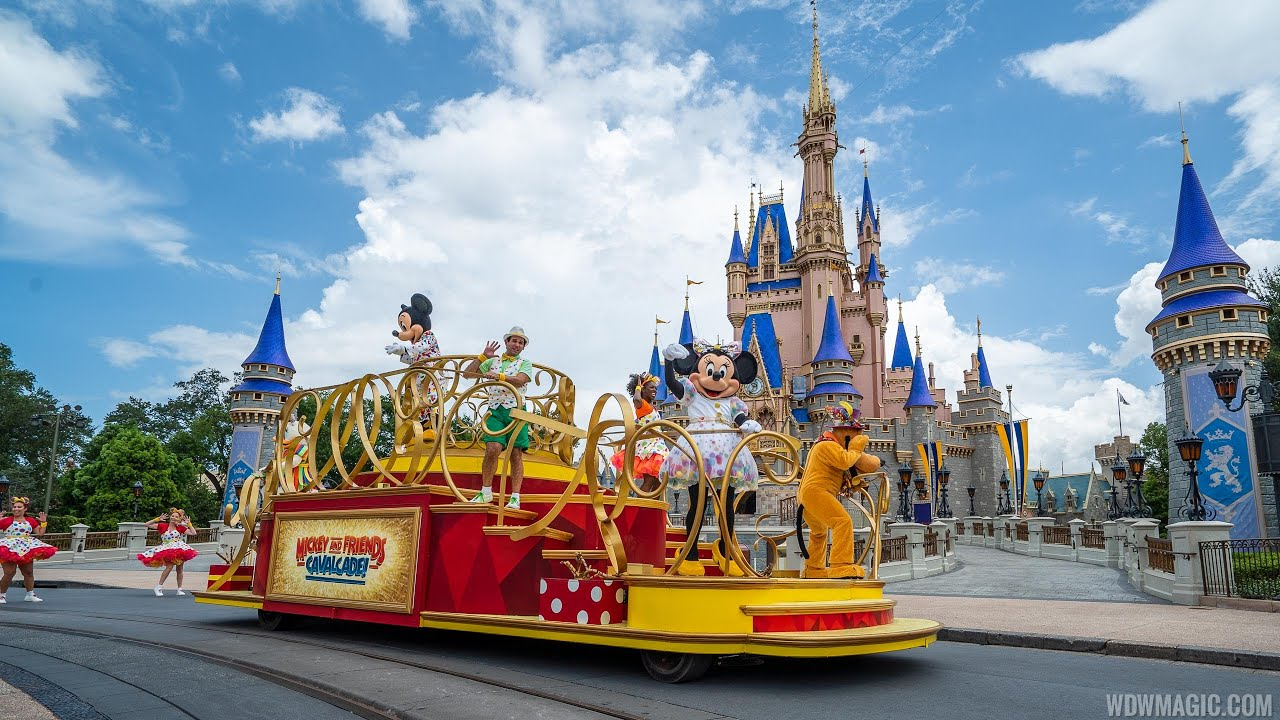 Magic Kingdom's new entertainment line-up during COVID-19 reopening