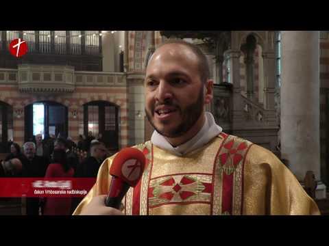 Đakonsko ređenje u sarajevskoj katedrali